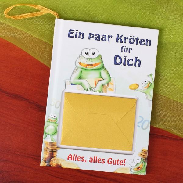 Geschenkbuch mit Geldkuvert – Ein paar Kröten für Dich