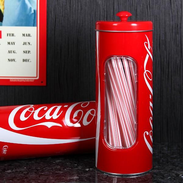 Coca Cola Trinkhalm Dose