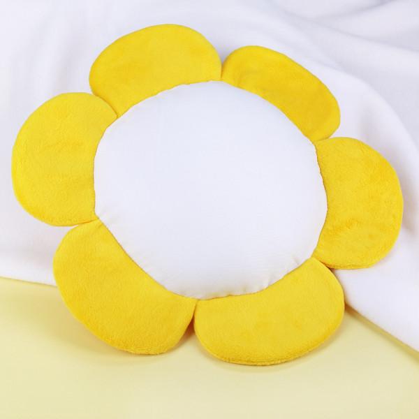 Blumenkissen mit gelben Blüten