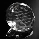bunte XXL Diamanten mit Gravur Ihres Wunschtextes