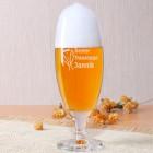Graviertes Pilsglas für den besten Trauzeugen mit Wunschname
