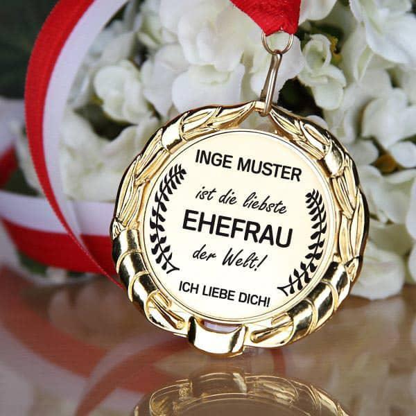 Medaille für die Ehefrau