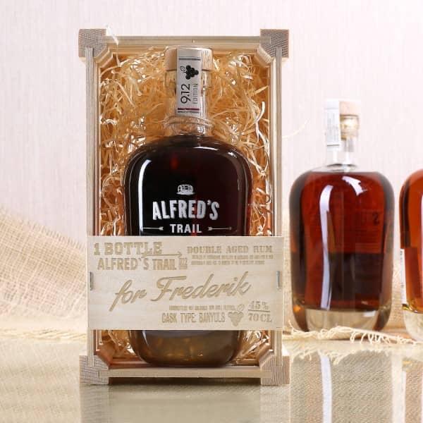 Alfred´s Trail Rum Edition 9.12 mit personalisierter Geschenkbox