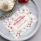 Postkarte - Besinnliche Weihnachten - mit Wunschtext