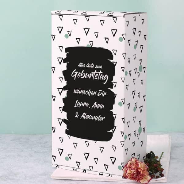 Geschenkkarton zum Geburtstag