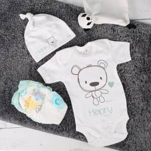 Personalisiertes Geschenkset für Babys