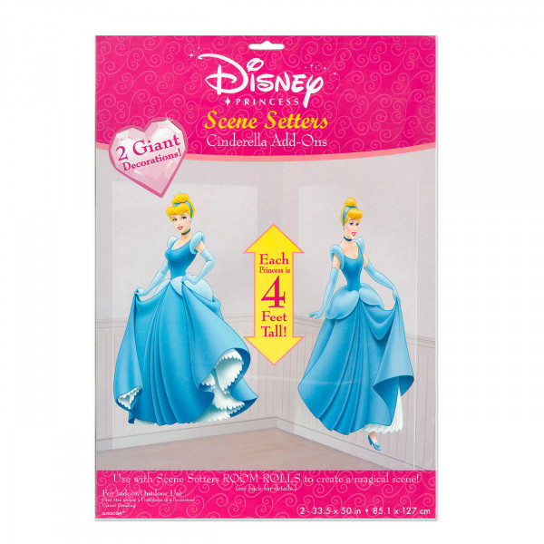 2 Dekofolien Cinderella