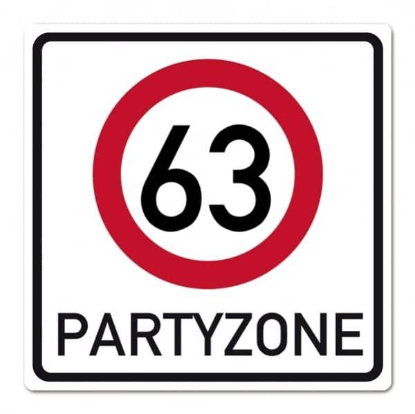 PVC Schild zum Geburtstag