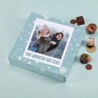 Lindt Pralinen mit Fotoverpackung zu Weihnachten