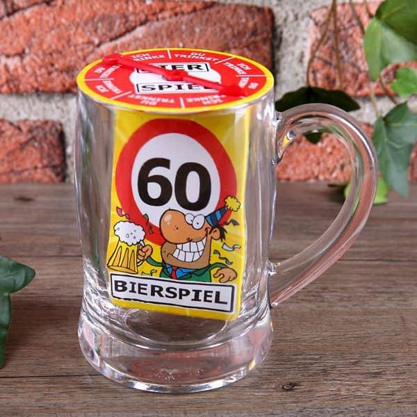 Bier-Spiel im Glas 60