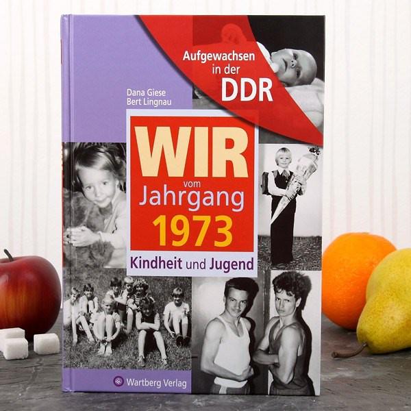 Jahrgangsbuch 1973 Kindheit und Jugend in der DDR