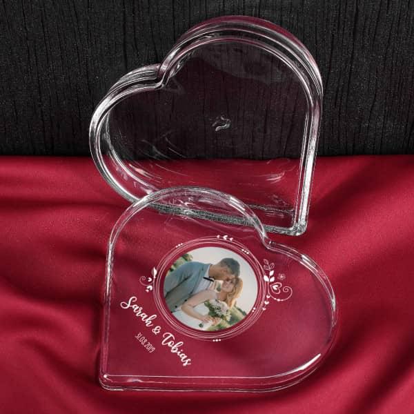 Herzdose mit Fotoaufdruck von Leonardo