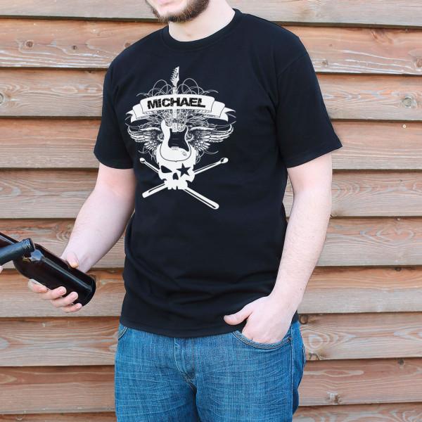 T Shirt Hard Rock mit Name