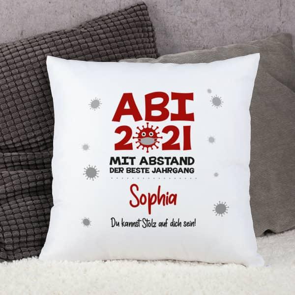 Kissen ABI 2021 - mit Abstand der beste Jahrgang