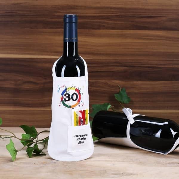 Flaschenschürze 30 - verdammt scharfes Alter