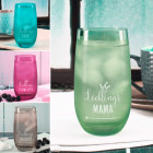 Trinkglas in drei Farben - Lieblings...