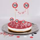 Torten-Deko Set zum 50. Geburtstag