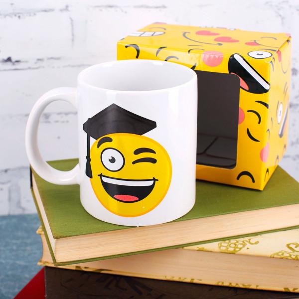 Tasse zur bestandenen Prüfung Smiley