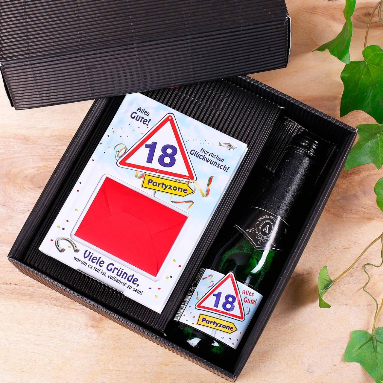 gute geschenke zum 18 geburtstag simple finest plsch. Black Bedroom Furniture Sets. Home Design Ideas
