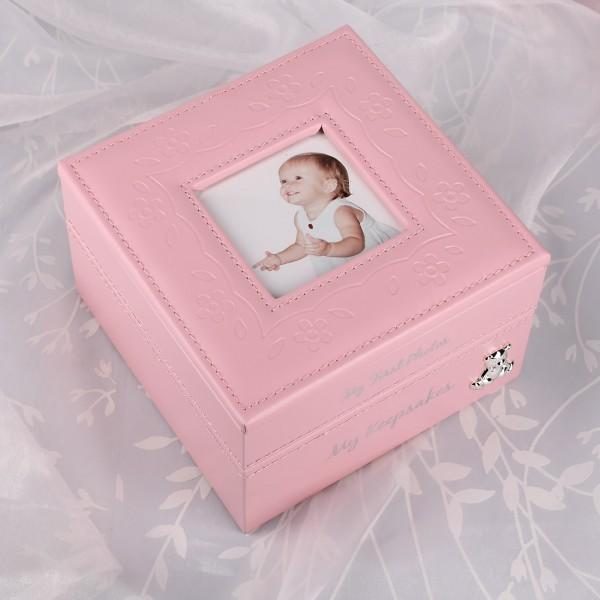 Aufbewahrungbox Baby Girl rosa