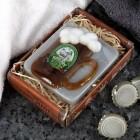 Handgefertigte Bier-Spa Seife in Form eines Bierkrug