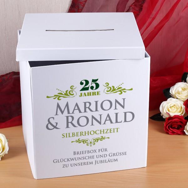 Schöne Briefbox für Glückwunschkarten, Geldkuverts