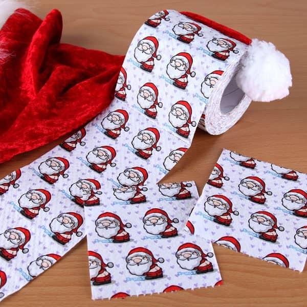 Klopapier - lustiger Weihnachtsmann