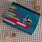 Geldbörse mit Quad und Wunschnamen