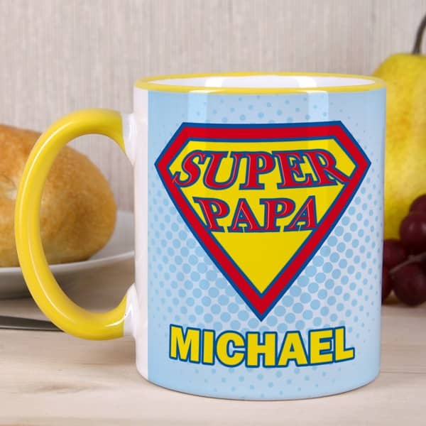 Super Papa Tasse mit Wunschname