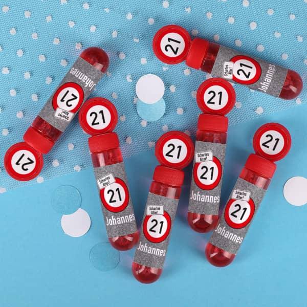 6 Seifenblasen zum Geburtstag