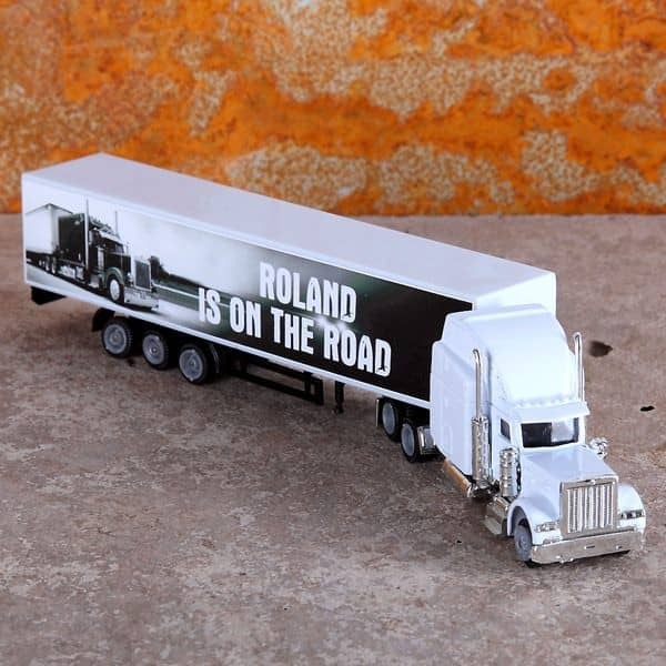 Mini Truck On The Road