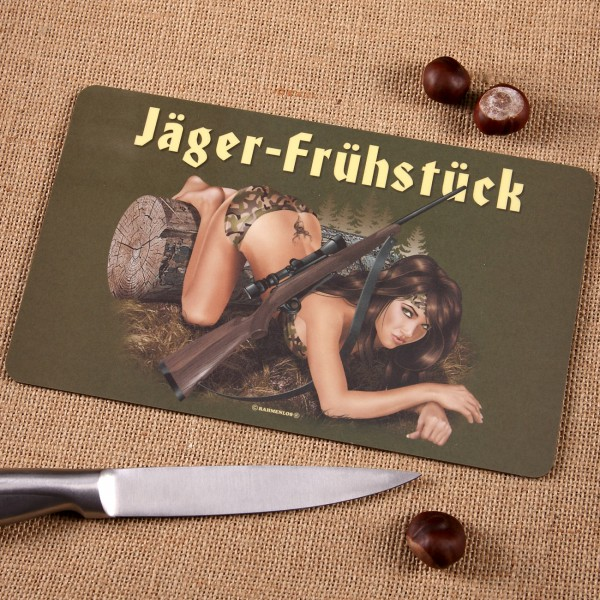 Brettchen Jäger-Frühstück