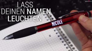 LED Kugelschreiber mit deinem Namen
