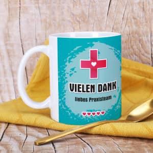 Tasse als Geschenk für Pflegepersonal