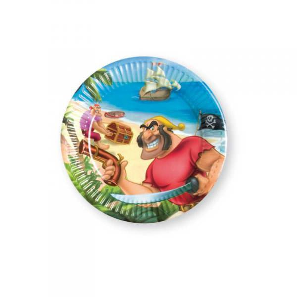 Pappteller - Disney Pirates