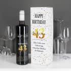 Weinverpackung mit BREE Weinflasche zum Geburtstag - mit persönlichem Aufdruck