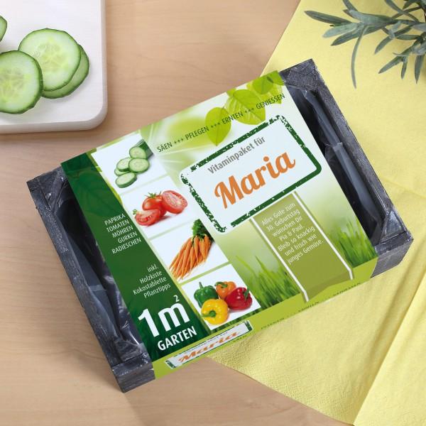 das persönliche Vitaminpaket enthält Samen für Gemüse