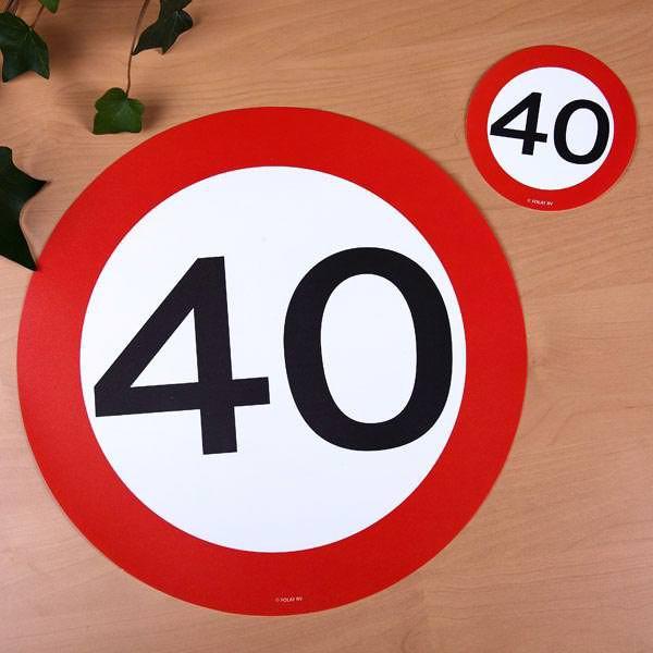 passend zum 40. Geburtstag