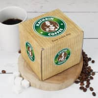 Tassenverpackung Coffee mit Namensaufdruck