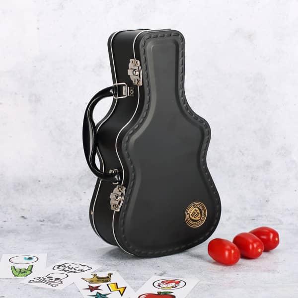 Gitarrenkoffer als Brotbox