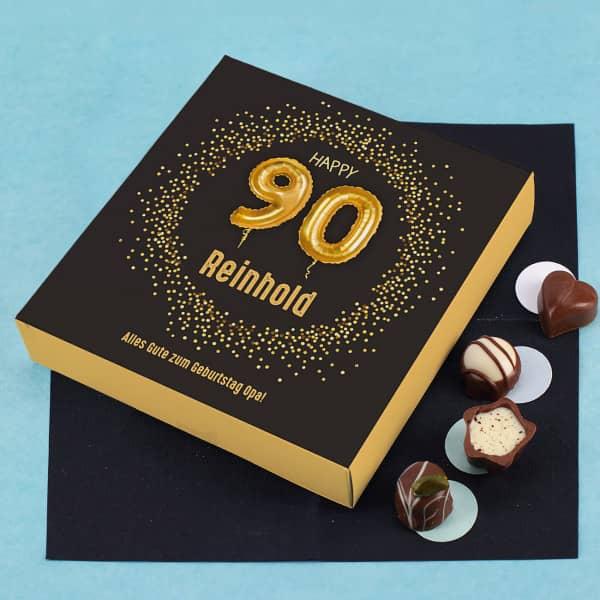 Pralinen zum 90. Geburtstag