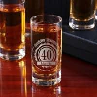 Geburtstags Schnapsglas mit Personalisierung