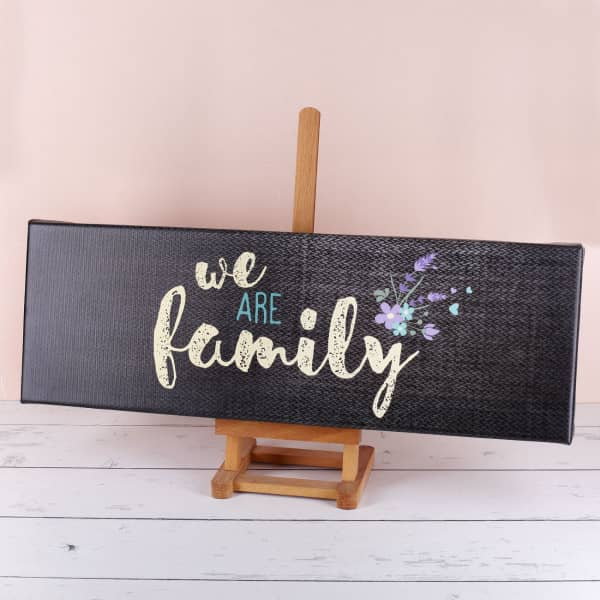 Leinwand We Are Family