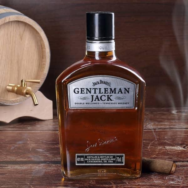 Jack Daniels Gentleman Jack Flasche