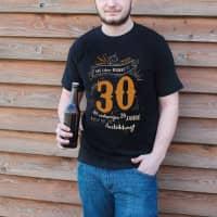 T-Shirt zum Geburtstag - Das Leben beginnt mit 30