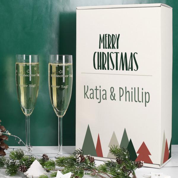 - Stimmungsgläser in weihnachtlicher Geschenkverpackung - Onlineshop Geschenke online.de