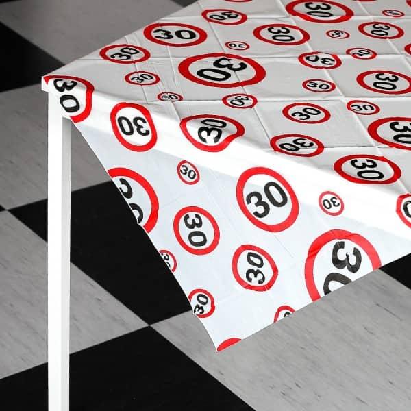 Party-Tischdecke zum 30. Geburtstag