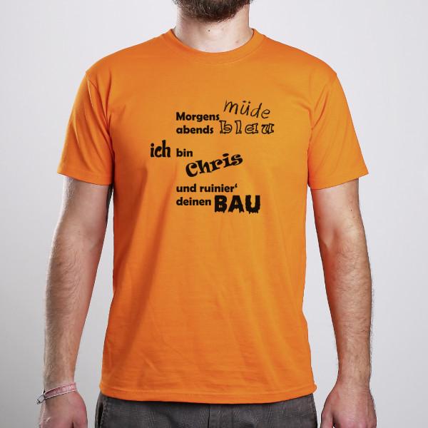Individuellbekleidung - T Shirt für Maurer mit humorvollem Spruch - Onlineshop Geschenke online.de