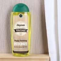Duschgel zum Geburtstag - Nicht alt, sondern vintage!