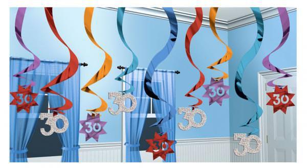 Hängende Dekoration zum 30. Geburtstag
